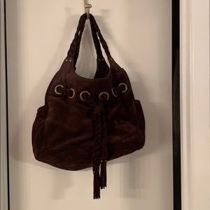 Kooba brown suede bag - like new!